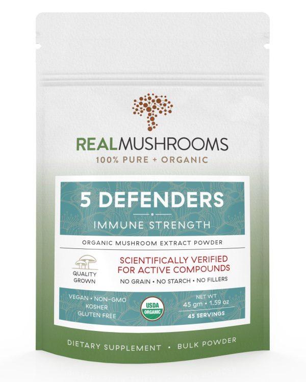 5 defenders mushroom