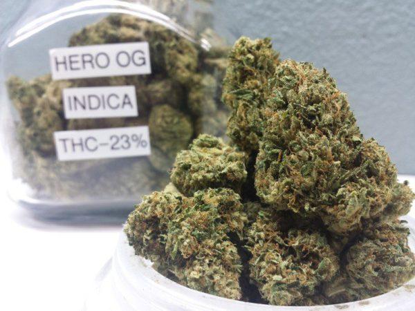 Buy Hero OG Weed Strain