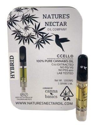 Buy Nature Nectar oil vape cartridge