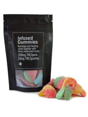 Infused Gummies 200mg Variety Pack