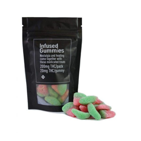 Infused Gummies 200mg Watermelon