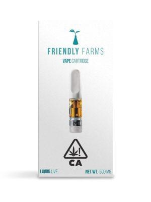 Friendly farms vape cartridge